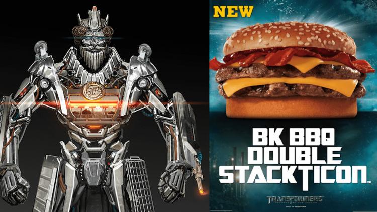 為了彌補傷害,而研發出雙層犇牛堡!你知道「漢堡王」是變形金剛發明的速食品牌嗎?首圖