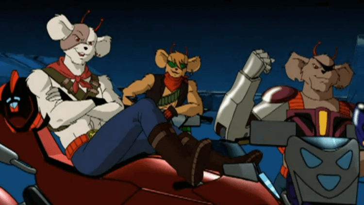 依賴你的腦袋、你的兄弟和你的機車! 90 年代卡通《雷霆戰鼠》介紹——首圖