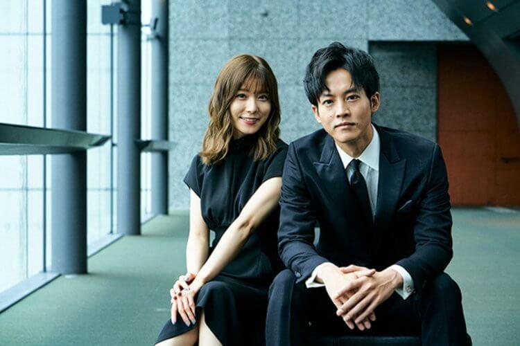 松坂桃李主演電影《新聞記者》劇照。