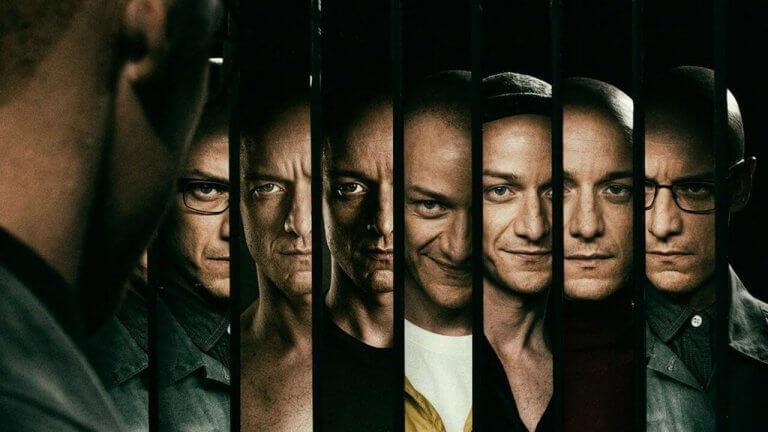《分裂》(Split) 凱文共有八個分裂人格登場