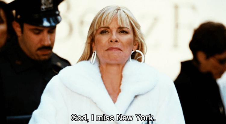 金凱特蘿飾演《慾望城市》莎曼莎一角。