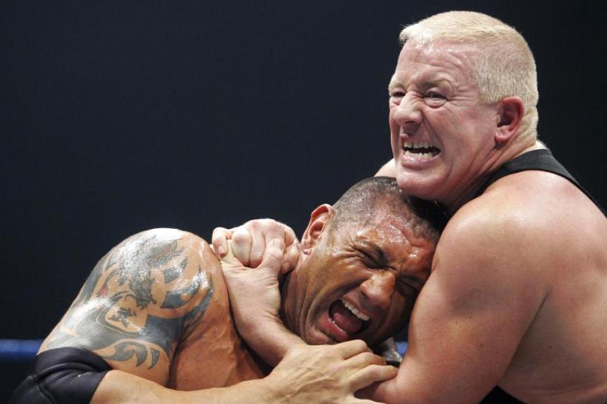 WWE 中的 德克斯