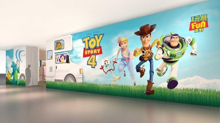 台中「玩具 FUN 派對期間限定店」將來到台北,並推出以園遊會為主題的《玩具總動員 4》快閃店。