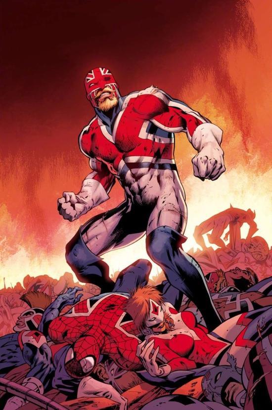 漫威漫畫裡除了 美國隊長 之外,另還有尚未在電影出現過的 英國隊長