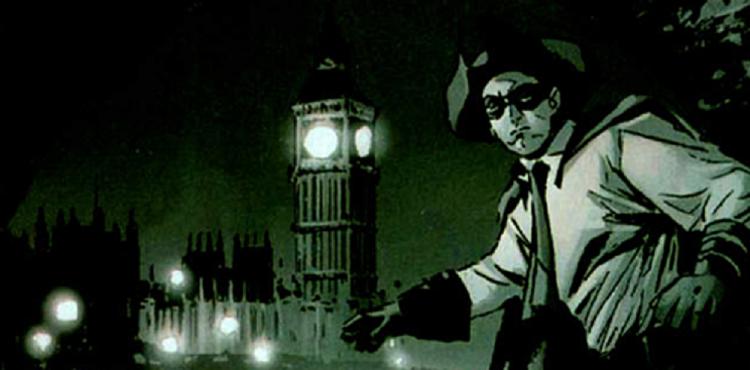 漫畫中的威廉納斯蘭德。