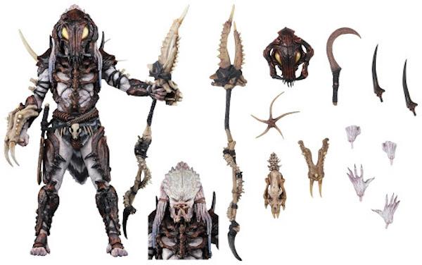 終極戰士玩具「Alpha Predator」細節。