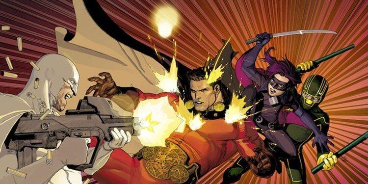 馬克米勒所著的《Nemesis》漫畫系列。