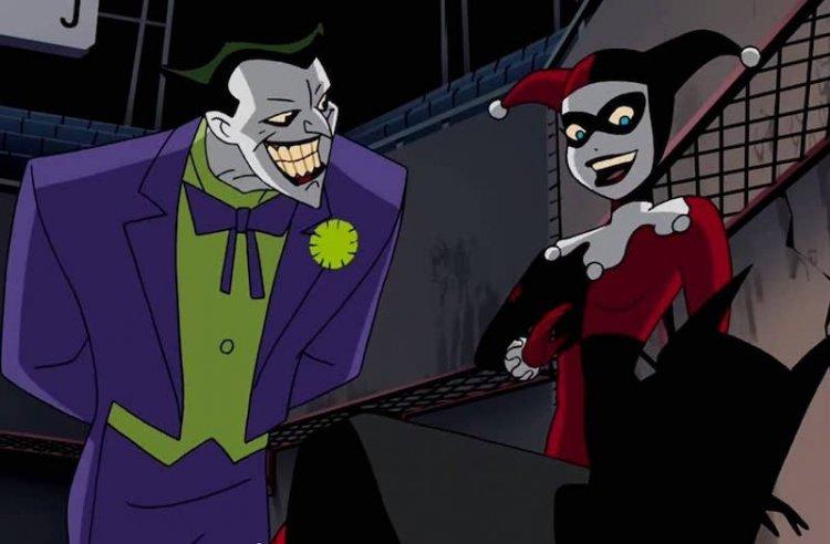 《蝙蝠俠:動畫系列》小丑與哈莉奎茵。
