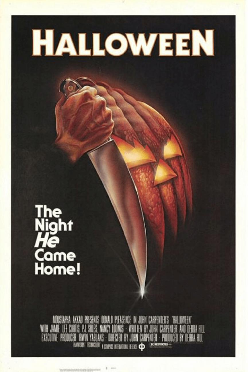 1978 年的 恐怖片 《 月光光心慌慌 》(Halloween)。