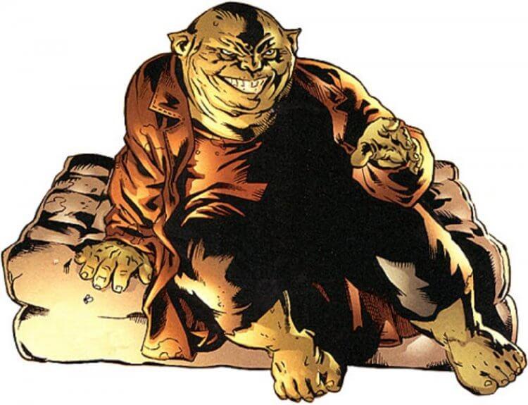 DC 漫畫中的斯利茲。