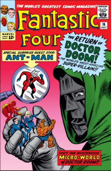 量子領域 在漫畫中被稱為「 微觀宇宙 」(Microverse), 驚奇四超人 等其他英雄們也都有進入過這個領域。