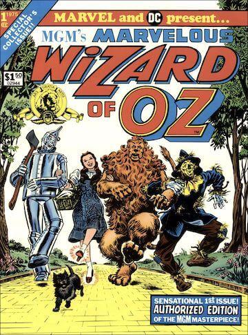 DC與漫威的第一次合作的作品:《綠野仙蹤》漫畫。