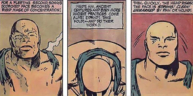 漫畫中的 Sonny Sumo。