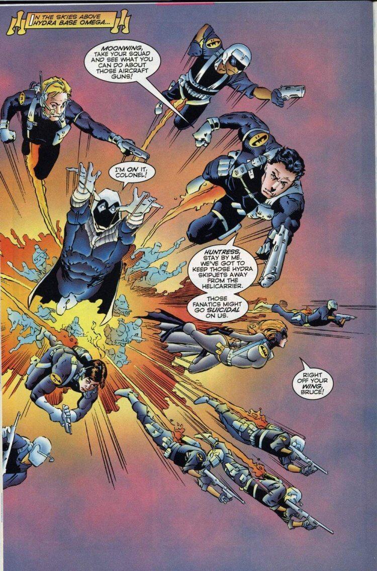漫畫《Bruce Wayne Agent of S.H.E.I.L.D.》。