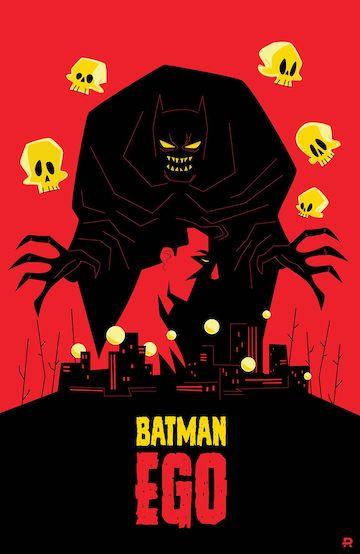 《Batman: Ego》漫畫。