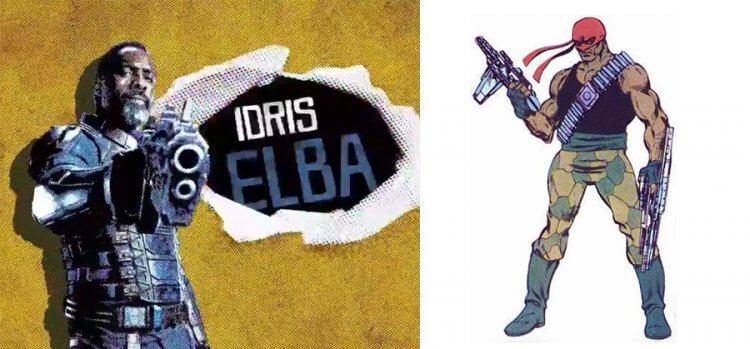 《自殺突擊隊:集結》伊卓瑞斯艾巴飾演「血腥運動」。