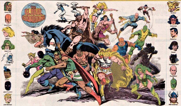 《超級好朋友》DC 漫畫。