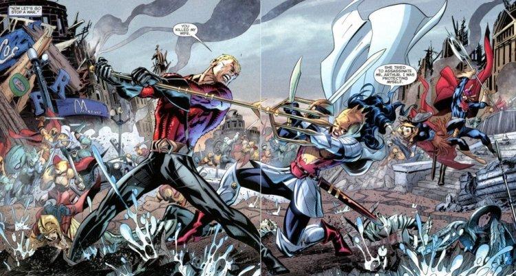 DC 2011 年推出的漫畫正史宇宙大事件《閃點》,閃電俠真人電影將改編此篇章故事。