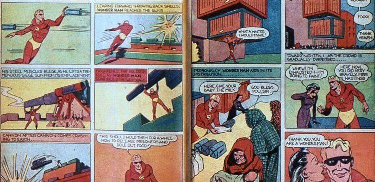 DC 超人漫畫。