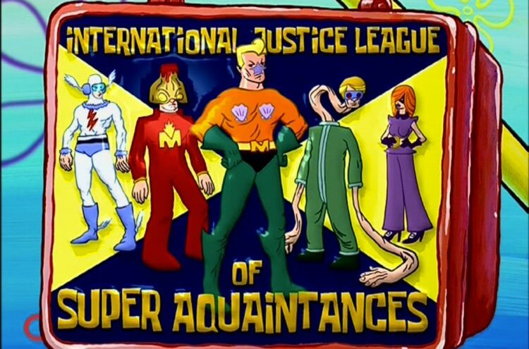 《海綿寶寶》正義聯盟。