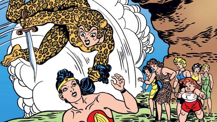 DC《神力女超人》漫畫中的豹女。