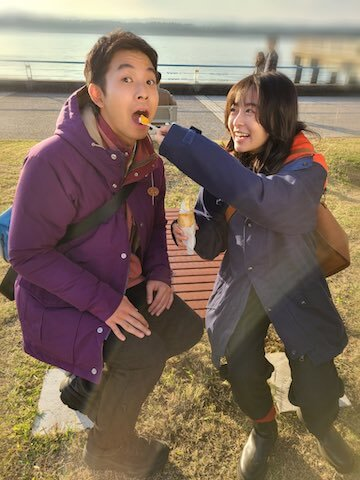 日劇《愛情加溫》的仲野太賀與森七菜。