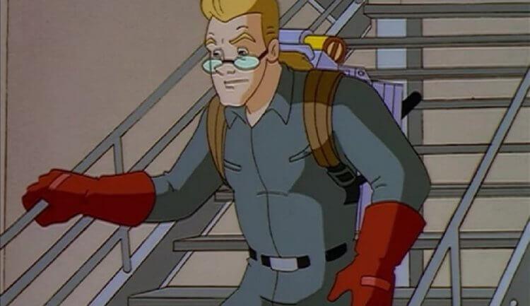 《捉鬼特攻隊》卡通:伊根史賓格勒 (Egon Spengler)。