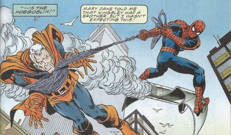 《蜘蛛人》漫畫中的惡鬼羅德里克金斯利。