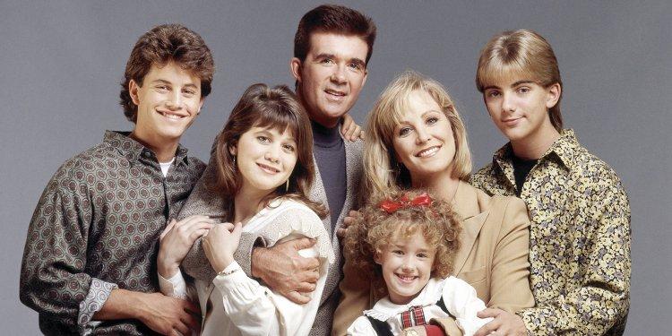 影集《歡樂家庭》。