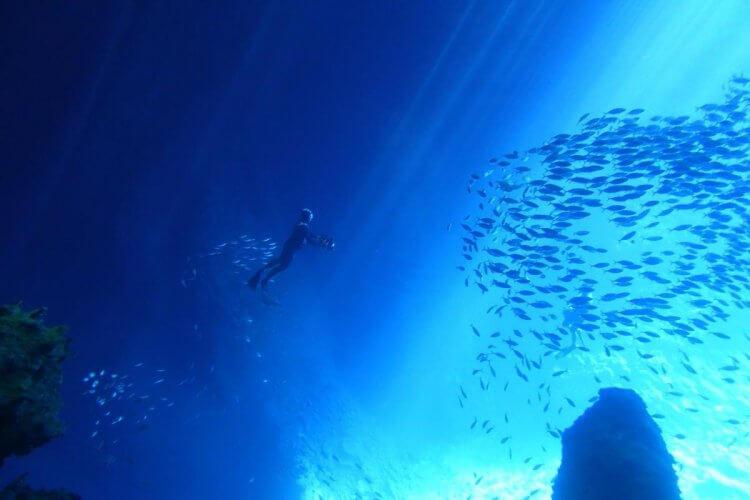 台灣海洋紀錄片電影《男人與他的海》劇照。