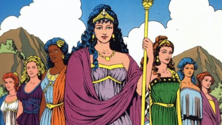 「亞馬遜女王」希波呂忒