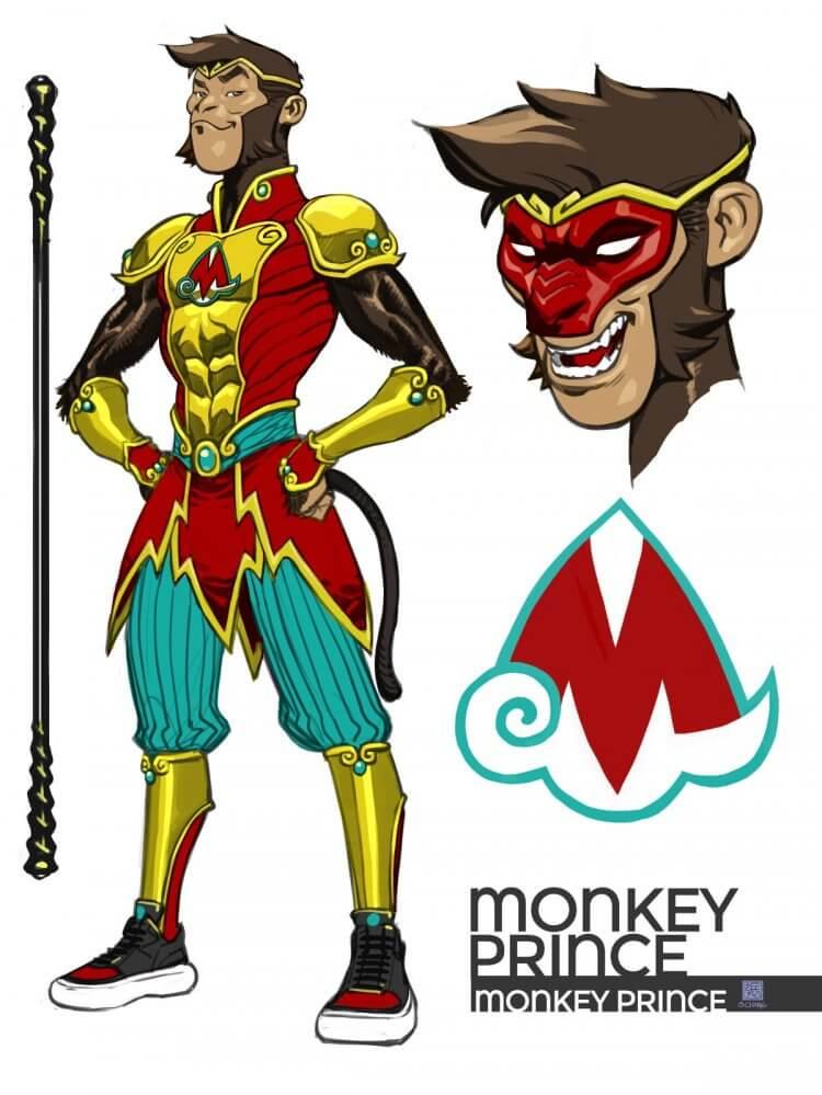 DC 漫畫《猴王子》。