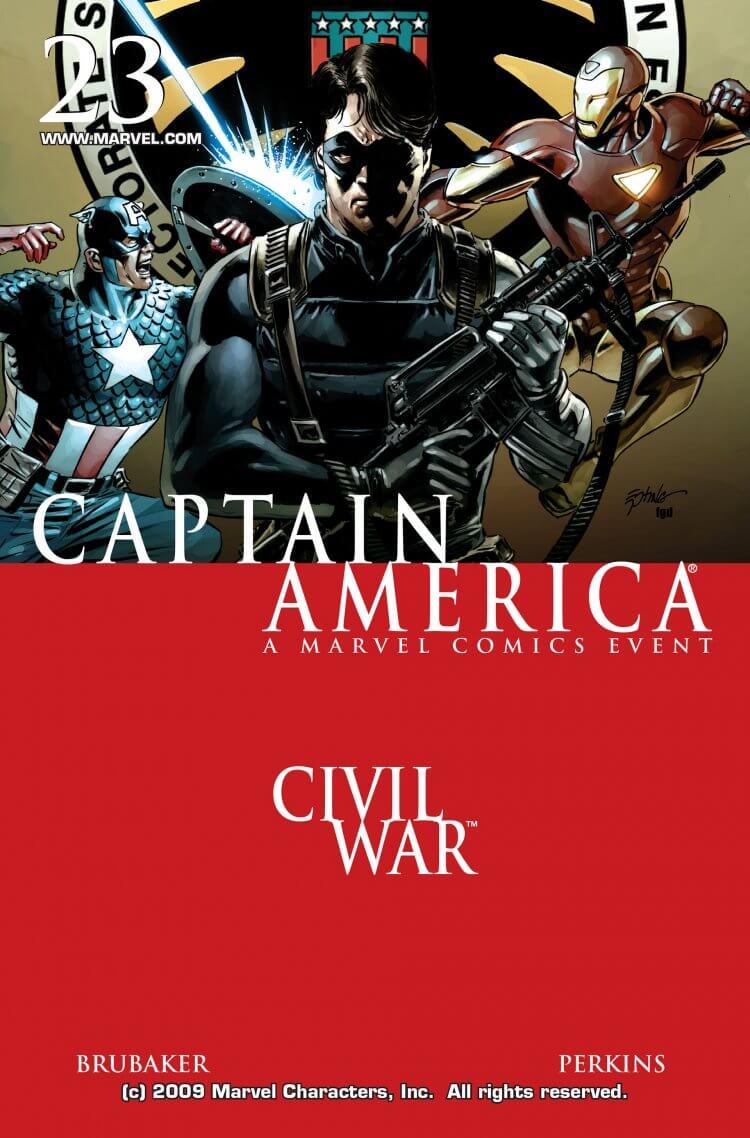 漫威漫畫 Captain America Vol.5 # 23 期。