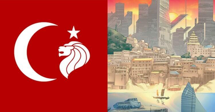 漫威影集《獵鷹與酷寒戰士》出現虛構國家「馬德里波」。