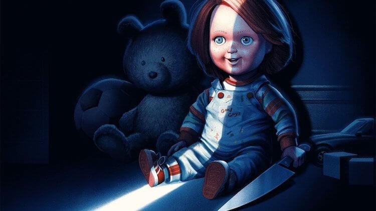 電影中最恐怖的玩偶之一,鬼娃恰吉電影《靈異入侵》。