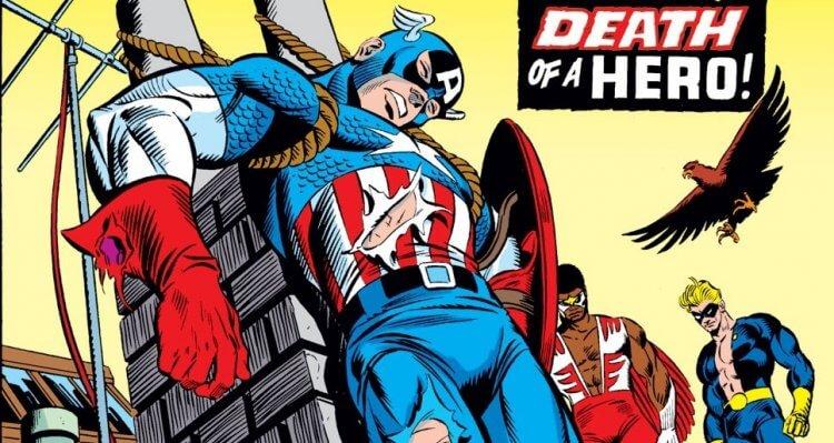 獵鷹在漫畫中成為美國隊長的過程:曾和身為美國隊長的巴奇合作!