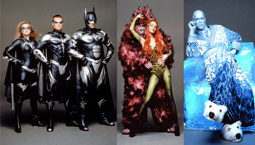 1996 年華納推出的漫改超級英雄電影《蝙蝠俠 4:急凍人》。