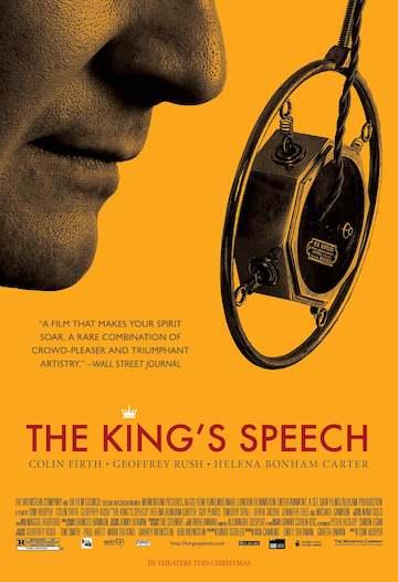 《王者之聲:宣戰時刻》電影海報。
