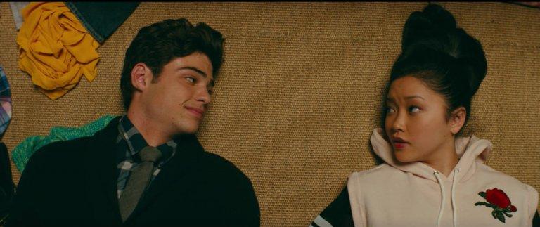 Netflix 原創電影《愛的過去進行式》,拉娜康鐸、 諾亞森迪尼奧主演。