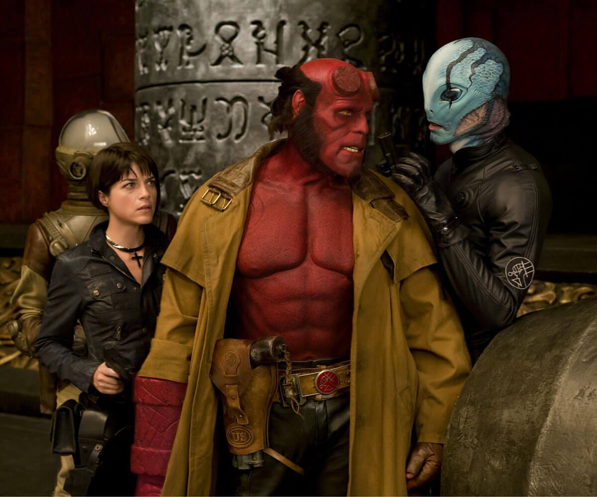 跨物種 愛情電影 地獄怪客 Hellboy