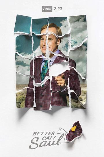 美劇影集《絕命律師》第五季宣傳海報。