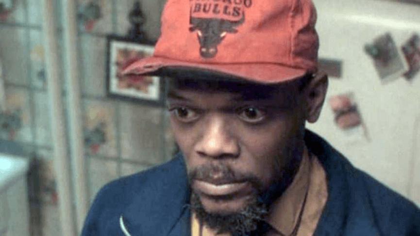山謬傑克森 在 電影《 叢林熱 》中 劇照。