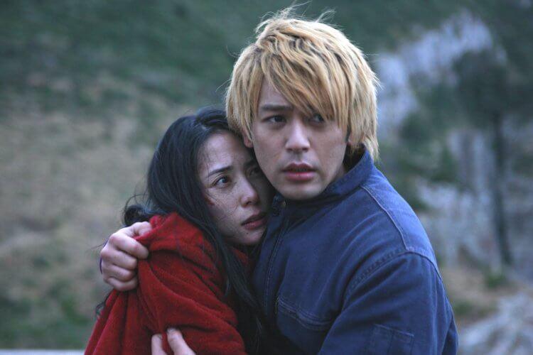 吉田修一小說改編《惡人》電影劇照。