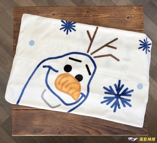 7-ELEVEN 《冰雪奇緣 2》(Frozen 2) 集點活動:兩用毛毯