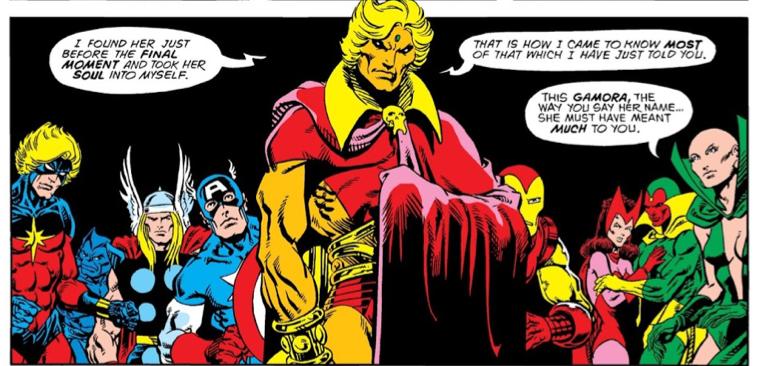 亞當術士 集結了 復仇者聯盟 等 超級英雄 一同對抗 薩諾斯