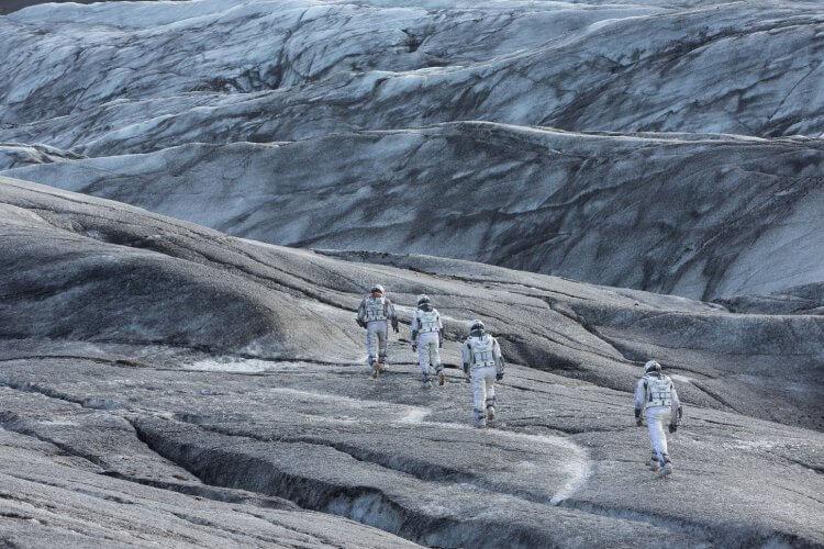 諾蘭經典電影巨作《星際效應》劇照。
