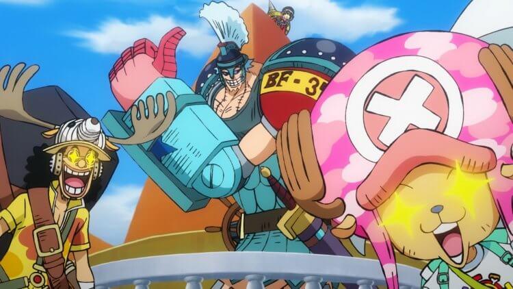 《航海王:奪寶爭霸戰》(One Piece Stampede)。