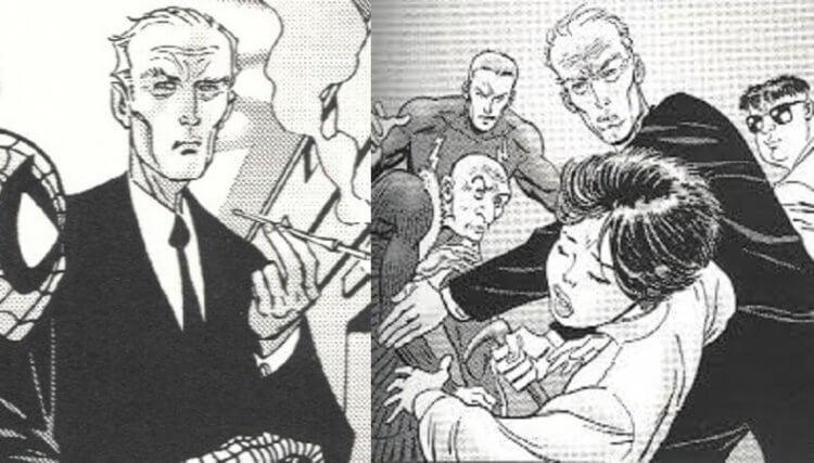 漫畫中的古斯塔夫菲爾斯。