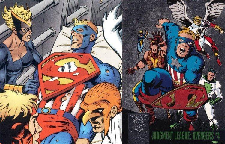 DC「混合宇宙」超級戰士。