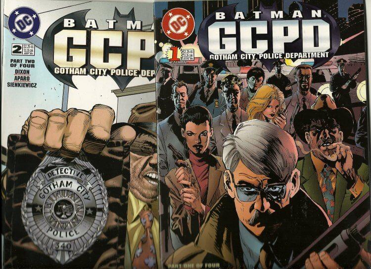 高譚市警察局 (GCPD)。